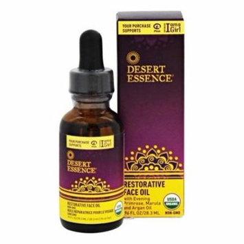 Restorative Face Oil - 0.96 fl. oz. by Desert Essence (pack of 6)