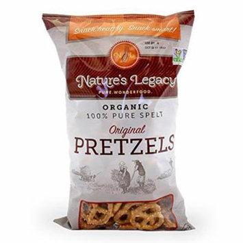 Nature's Legacy Organic Spelt Pretzels (Minipret) Case of 12 - 7 oz bags