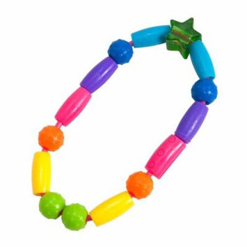 The First Years, Bright Beads, Teething Toy, 3 + Months, 1 Teething Toy(pack of 6)