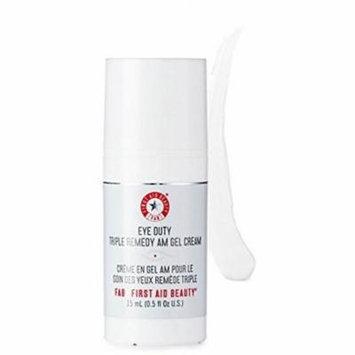 4 Pack - First Aid Beauty Eye Duty Triple Remedy AM Gel Cream 0.5 oz