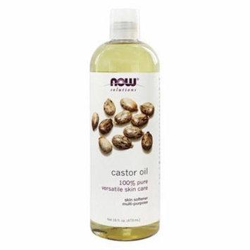 Castor Oil - 16 fl. oz. by NOW Foods (pack of 2)