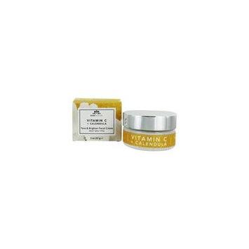 Tone & Brighten Facial Creme Vitamin C Ester + Calendula - 2 oz. by Bodyceuticals (pack of 4)
