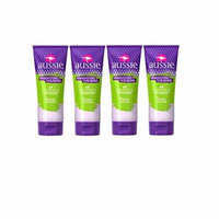 Aussie Aussome Headstrong Volume Styling Hair Gel, 7 Oz Bottles (Pack of 4)