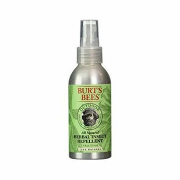 Burt's Bees All Natural Outdoor Herbal Insect Repellent 4 oz (Pack of 5)