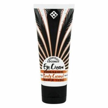 Everyday Coconut Replenishing Eye Cream Purely Coconut - 3 oz. by Alaffia (pack of 4)
