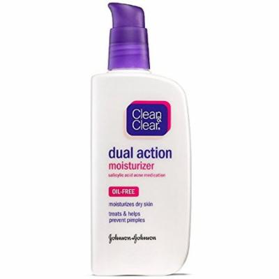 Clean & Clear Essentials Dual Action Facial Moisturizer, 4 Oz. (Pack of 3)