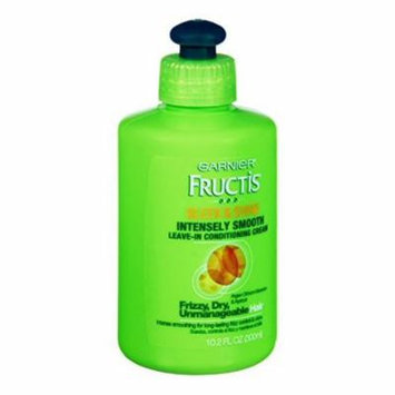 Garnier Fructis Sleek and Shine Intensely Smooth Leave-in Conditioning Cream, 10.2 Ounce (Pack of 3)