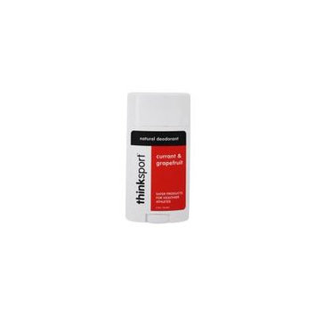 Natural Deodorant Currant & Grapefruit - 2.9 oz. by Thinksport (pack of 3)
