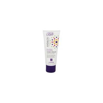 A Path of Light Shea Butter + Cocoa Butter Hand Cream Lavender - 3.4 fl. oz. by Andalou Naturals (pack of 6)