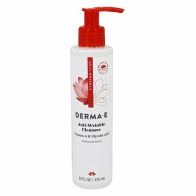 Anti-Wrinkle Cleanser with Vitamin A & Glycolic Acid - 6 fl. oz. by DERMA-E (pack of 1)