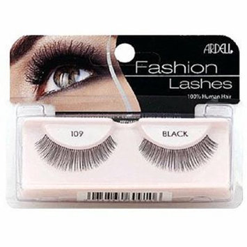 Ardell Fashion Lashes, Black [109] 1 pair (Pack of 6)