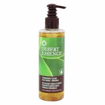 Thoroughly Clean Face Wash Original - 8.5 fl. oz. by Desert Essence (pack of 3)