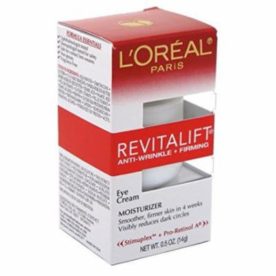 Loreal Revitalift Eye Cream 0.5 Ounce (14ml) (6 Pack)