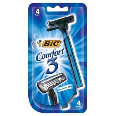 Bic Comfort 3 Men Razor 4 Size 4ct Bic Comfort 3 Men Razor 4pk Ea