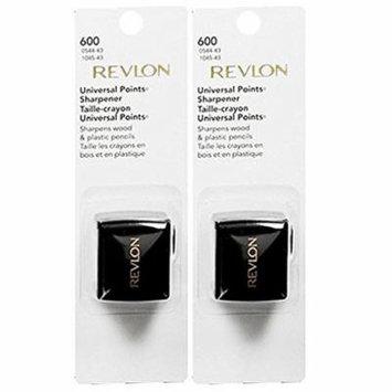 Revlon Universal Points Sharpener, 2 Pack