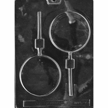 Round 3 oz. Lollipop Chocolate Mold - M095 - Includes Melting & Chocolate Molding Instructions