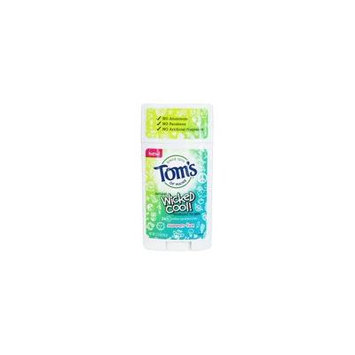 Wicked Cool! Natural Deodorant for Girls Summer Fun - 2.25 oz. by Tom's of Maine (pack of 4)