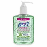 Purell Hand Sanitizer with Aloe 8 oz (Pack of 9)