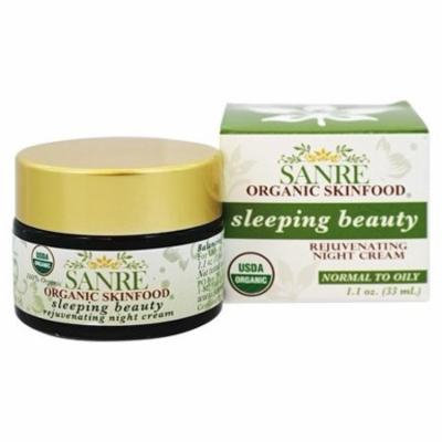 Sleeping Beauty Rejuvenating Night Cream - 1.1 oz. by SanRe Organic Skinfood (pack of 1)