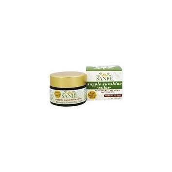Supple Sunshine Solar Rosemary Lavender Day Cream 30 SPF - 1.1 oz. by SanRe Organic Skinfood (pack of 2)