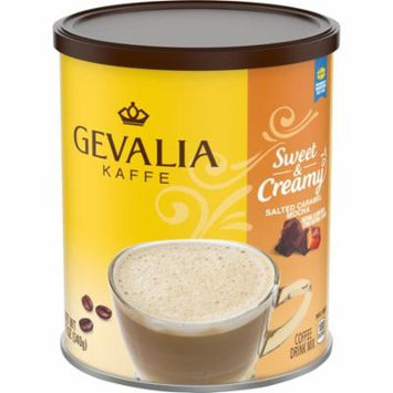 Gevalia Kaffe Sweet & Creamy Salted Caramel Mocha Coffee Drink Mix 12 oz. Canister