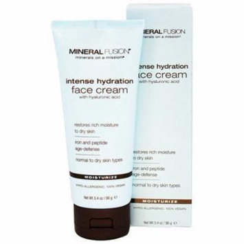Intense Hydration Face Cream - 3.4 fl. oz. by Mineral Fusion (pack of 3)