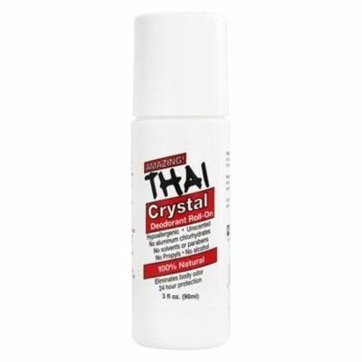 Thai Crystal Mist Roll-On Deodorant - 3 oz. by Thai Deodorant Stone (pack of 6)