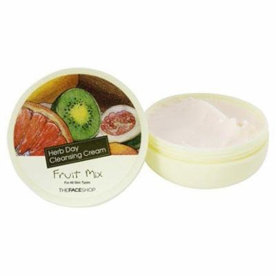 Herb Day Cleansing Cream Fruit Mix - 5 oz. by The Face Shop (pack of 3)