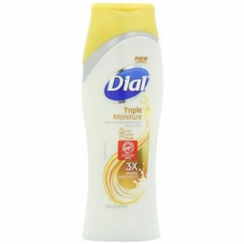 Dial Body Wash, Triple Moisture, 16 Ounce (Pack of 3)