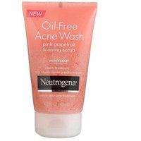 Neutrogena Oil-Free Acne Wash Foaming Scrub, Pink Grapefruit, 4.2 Ounce (Pack of 2)