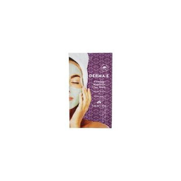 Firming Magnetic Clay Facial Mask Adzuki Beans & Spearmint - 0.35 oz. by DERMA-E (pack of 4)