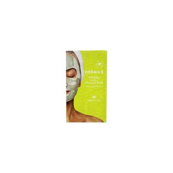 Purifying 2 in 1 Charcoal Facial Mask - 0.35 oz. by DERMA-E (pack of 4)