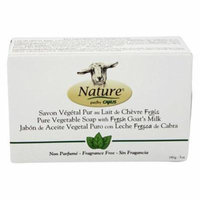 Goat's Milk Bar Soap Fragrance Free - 5 oz. by Canus (pack of 6)