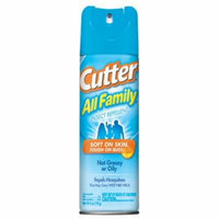 Cutter All Family Insect Repellent Aerosol 6 oz ( Pack of 12)