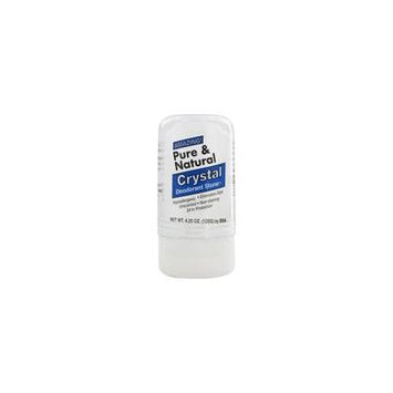 Pure and Natural Crystal Push-Up Deodorant - 4.25 oz. by Thai Deodorant Stone (pack of 4)