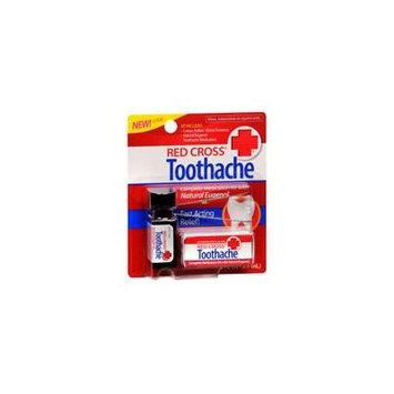 Red Cross Toothache Medication Drops (Pack of 2)