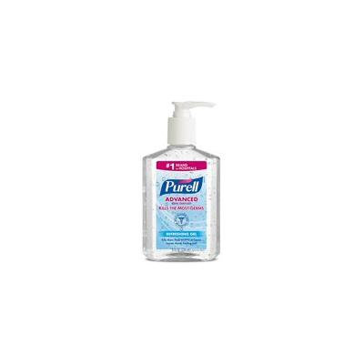 Purell Advanced Instant Hand Sanitizer Gel 8 oz (Pack of 9)