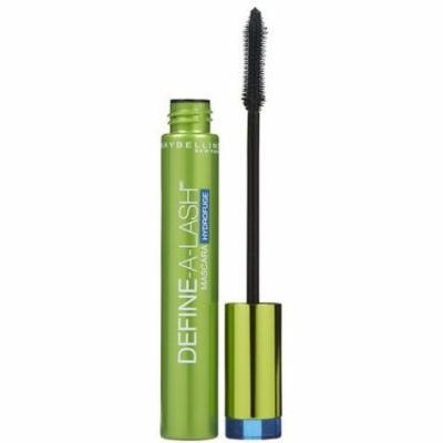 Maybelline Define-A-Lash Lengthening Waterproof Mascara, Very Black (Quantity of 4)