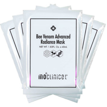Magnolia Orchid Bee Venom Advanced Radiance Mask (Black) Set of 5
