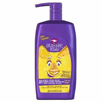 Aussie Kids 3 in 1 Shampoo + Conditioner & Bodywash, Coral Reef Cupcake - Characters May Vary 29.2 oz (Pack of 2)