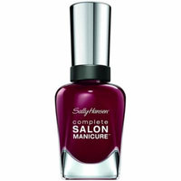 6 Pack - Sally Hansen Complete Salon Manicure Nail Color, Society Ruler 0.5 oz