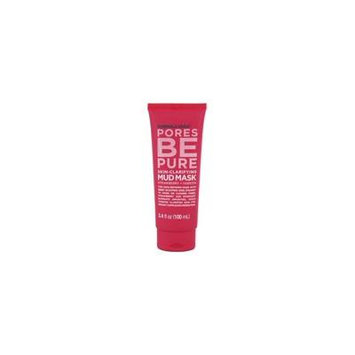 Pores be Pure Skin-Clarifying Facial Mud Mask - 3.4 oz. by Formula 10.0.6 (pack of 2)