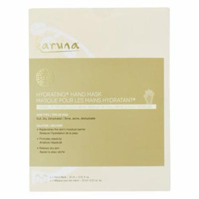 Hydrating Hand Mask Creamy Oil Infused Cloth - 1 Count by Karuna (pack of 3)