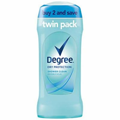 Degree Dry Protection Antiperspirant, Shower Clean 2.6 oz, Pack of 6 (Pack of 6)