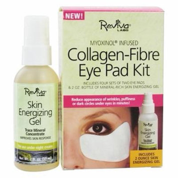 Collagen-Fibre Eye Pad Kit by Reviva Labs (pack of 4)