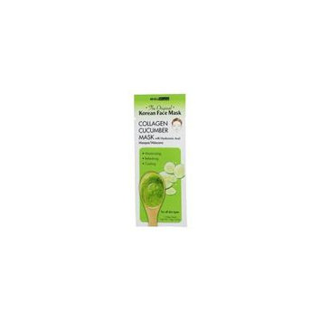 The Original Korean Collagen Cucumber Face Mask with Hyaluronic Acid - 0.67 oz. by BioMiracle (pack of 1)