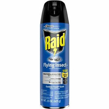 Raid Flying Insect Killer Spray 15 oz ( Pack of 12)