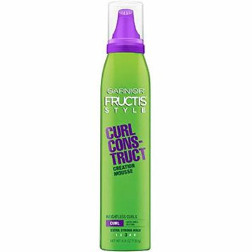 Garnier Fructis Style Curl Const Mousse 6.8 Ounce (X-Strong) (201ml) (3 Pack)