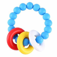 VBESTLIFE Lovely Baby Silicone Pacifier Clip Holder Teether Shower Gift Teether Tool Baby Teether