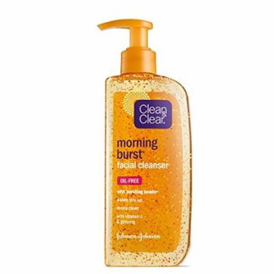 Clean & Clear Morning Burst Facial Cleanser, Original, 8 oz, 2 pk